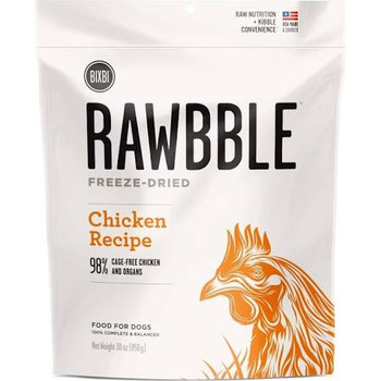 """There is a subtle, but important difference for us between dog food and food for dogs.  One is adequate.  One is exceptional.  We choose exceptional.  Rawbble blends quality, nutrition and convenience in a way not previously seen in a complete and ba"""""""