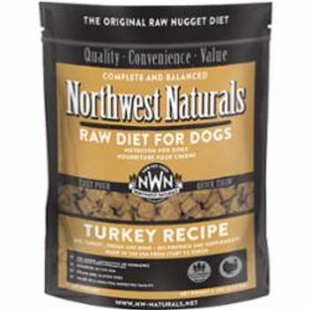 Northwest Naturals Dog Frozen Turkey Nuggets 6lb