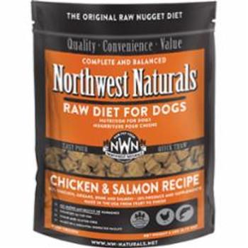 Northwest Naturals Dog Frozen Chicken - Salmon Nuggets 6lb