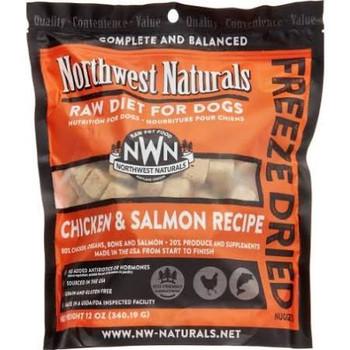 <p>Northwest Naturals Dog Freeze Dried Chicken - Salmon Nuggets 12oz</p>