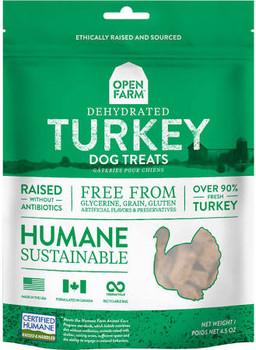 Open Farm Dog Dehydrated Turkey 4.5oz {L+x}