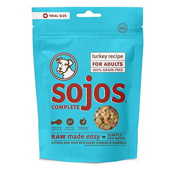 Sojos Proven Raw Made Easy Recipes Are Now Even Meatier And Chunkierand Specially Formulated For Adults. Just Add Water And Magic Happens. In Minutes The Awesome Taste, Aroma And Nutrition In Sojos Real, Farm-fresh Ingredients Are Ready To Serve. No Mess,