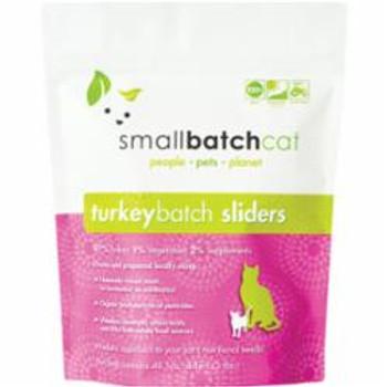 Small Batch Cat Frozen Turkey Sliders 3lb {L-x} SD-5