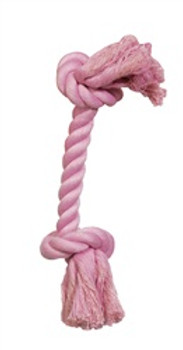 Dogit Pink Cotton Rope Bone Small{requires 3-7 Days before shipping out}
