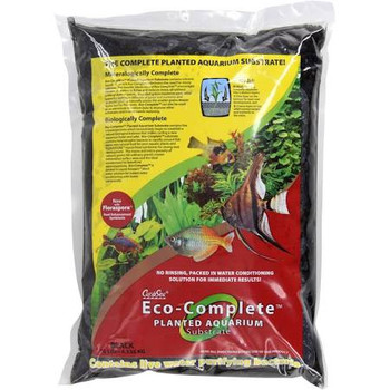 New formula for enhanced root development! Why does Eco-Complete trade; planted aquarium substrate outperform other products? For the same reason that Hawaii, Bali and Costa Rica are famous for lush, exuberant plant growth. The secret lies in rich basalti