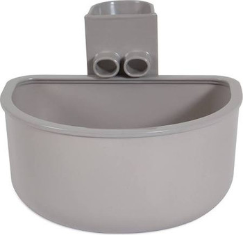 A Petmate reg; No Spill Kennel Cup makes it easier to refill your pets water during travel than ever before. The No Spill Kennel Cup features a No Spill Rim and a funnel that allows pet parents to fill up the cup from the outside, without ever having to o