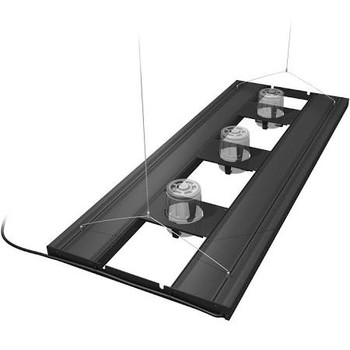 Aquatic Life T5 HO Hybrid 4-Lamp Mounting System Fixture. Available in 24, 36, 48 and 61 lengths for 18-24 wide (front to back) aquariums. Universal mounts included for EcoTech Radion (TM), Kessil 360 (TM), and AI Hydra   AI Prime (TM) LED Fixtures. This