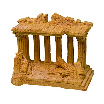 This simulated Terra Cotta statue ruins will create an underwater landscape right out of an ancient land. A great addition for your planted aquarium or terrarium   safe for freshwater or saltwater