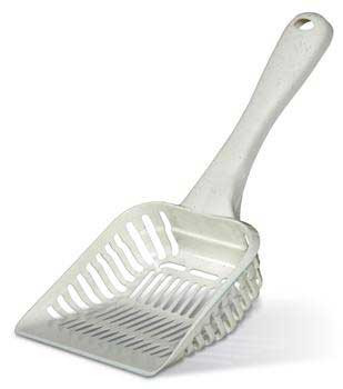 Petmate Litter Scoop With Microban Bleached Linen Giant