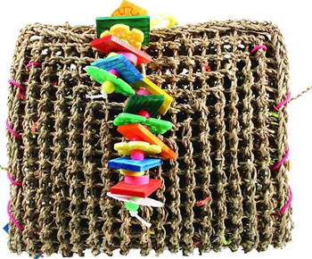 Encourages Your Bird's Natural Instinct To Forage And Play. Facilitates Agility Intellect And Overall Well-being. Toys Are A Crucial Requirement For Your Birds Good Health.