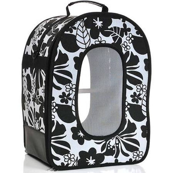Keep Your Bird Feeling Safe Whether You're Carrying Him Or Traveling By Car. Entire Front Of This Fashionable Bird Travel Cage Zips Open For Easy Access; Rounded Top Features Reinforced Carry Handle To Slide Seatbelt Through For Extra Safety.