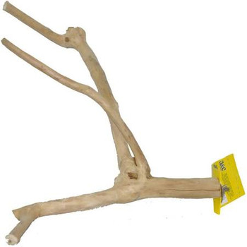 Java Wood Multi-branch Perch: Has Naturally Designed Branches For Perching. Metal Attachment That Connects To Any Cage.