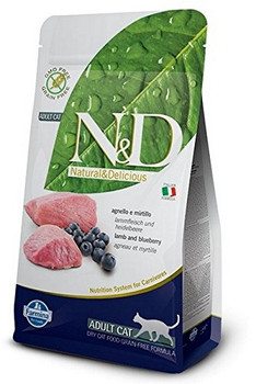 your Cats Deserve The Best Scientifically Proven Food To Maintain A Healthy Weight. Farmina N&d Natural And Delicious Grain Free Lamb & Blueberry Recipe Dry Cat Food Does Not Contain Any Cereal Or Grains Of Any Kind And Is Completely Replaced W