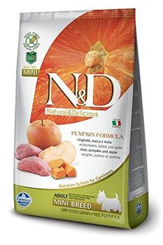 Ingredients: Fresh Boneless Wild Boar (24%), Dehydrated Boar Meat (22%), Pea Starch (20%), Chicken Fat, Dehydrated Pumpkin (5%), Dehydrated Whole Eggs, Fish Oil, Pea Vegetable Fibre, Dried Carrots, Dried Alfalfa, Inulin, Fructooligosaccharides, Mannanolig