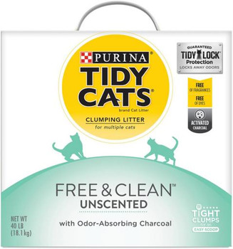 Tidy Cats Free & Clean Litter Box 40lb
