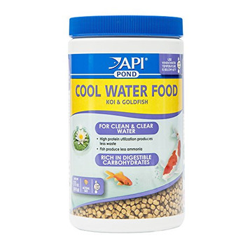 Specially formulated, rich carbohydrate diet for when water temperature is below 65_F. Readily provides energy to fish in cool water temperatures, when metabolic activity is lower. High protein utilization produces less waste for clean, clear water. Pellet food for koi & goldfish.