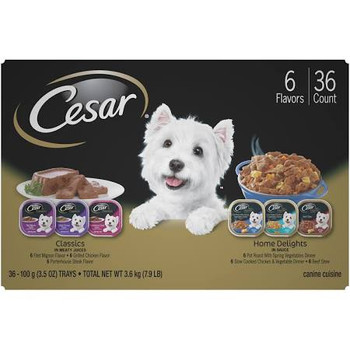 We Adore Small Dogs For Their Bravado And Brains, Antics And Affection. Relationships With Them Are Special Ones. Share Cesar Canine Cuisine With Your Dog Today. After All, Shouldn't They Enjoy Food That Is As Extraordinary As They Are Cesar Classics Can