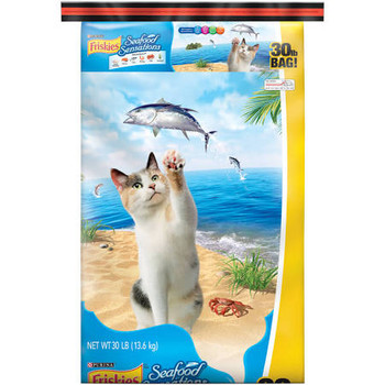 Every Bowl Of Friskies Seafood Sensations Serves Up A Tantalizing Mix Of Ocean Fish, Salmon, Tuna, Shrimp, Crab And Seaweed Flavors. For Seafood-lovin' Cats, This Meal Now Has Even More Seafood Yumminess! Friskies Provides Taste Adventures That Feed A Cat