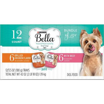 This Variety Pack Comes With Bundles Of Flavors For Your Little Bundle Of Joy, Including Recipes With Grilled Chicken And Beef In Savory Juices To Satisfy Even The Most Pampered Of Tastes. Your Pooch Will Love The Meaty Pate And Juiciness, And You Can Del