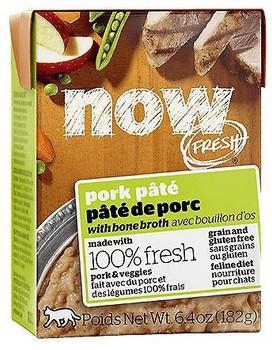 Now! Fresh Grain-Free Cat Pork Pate 6.4 Oz