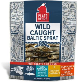 Plato Baltic Sprat Treats 3Z