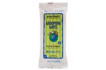 Earthbath Grooming Wipes Green Tea Wipes 28 Ct. Travel Pack