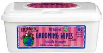 Eartbath Grooming Wipes Puppy Grooming Wipes 100 Ct.