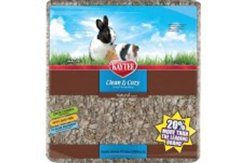 Kaytee Clean   Cozy Natural small pet paper bedding gives you a whole new standard in super-soft, absorbent bedding. Clean   Cozy is soft and fluffy to encourage burrowing or nesting while absorbing two times more liquid than wood shavings. Clean   Cozy #