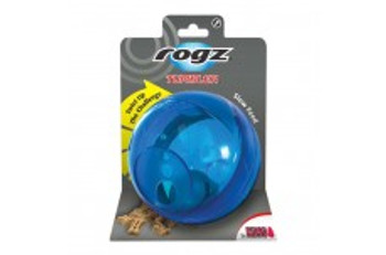 Rogz Tumbler - Adjust The Difficulty Level Of This Treat-dispensing Puzzle With A Simple Twist To Challenge The Skills Of Your Canine Einstein As They Learn Or Accommodate Different-sized Goodies. Rogz Tumbler-#039;s Dynamic Rolling, Spinning Action Keeps