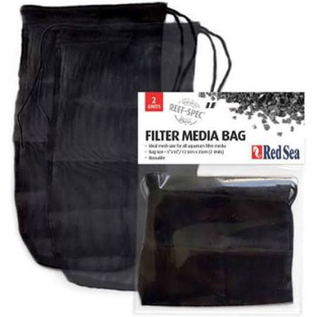 The high quality draw-string nylon media bag supplied with our Reef Spec Carbon is now available as a regular product ideal for all holding all types of media. Ideal mesh size for all aquarium filter media. Reusable