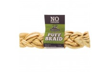 <p>Puff Braids Are Made From A Single Source Ingredient Of Beef Esophagus That Are A Great Alternative To Rawhide. Great For All Life Stage Including Puppies And Senior Dogs. Free From Chemicals, Preservatives, Coloring, And Flavoring.</p>