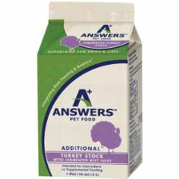 Answers Dog Cat Frozen Addition Turkey With Beet 1 Pint SD-5 {L-x}