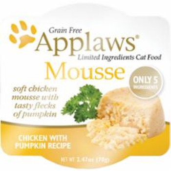 Applaws Cat Mousse Chicken - Pumpkin 2.47 Oz