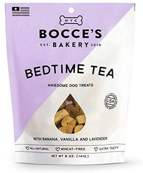 Calling all insomniacs and stressed out pawrents! This is the biscuit for you. With lavender, honey, and comforting oats this biscuit will have you dreaming in no time. All-natural and made from real ingredients so you can sleep easy knowing your pet doesnt have any monsters in his food. No guarantee about under the bed, though, youll have to check that one for yourself. Ingredients: Banana, Honey, Lavender, Oat Flour... That's it!