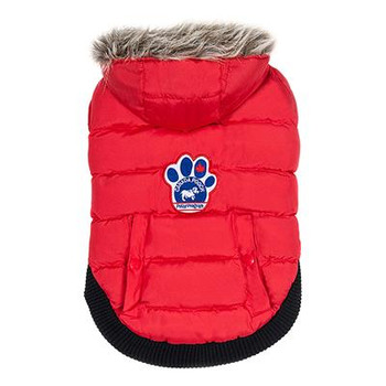 The North Pole Parka Is Designed To Keep Your Pooch Toasty And Dry On The Most Frigid Winter Days. ++this Adorable Waterproof Jacket Is Equipped With The Following Great Features ++waterproof Exterior, Fleece Lining, Extra-warm Faux-down Stuffing, Size-ad