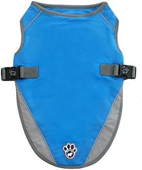 Canada Pooch Chill Seeker Cooling Vest - Aqua - 10