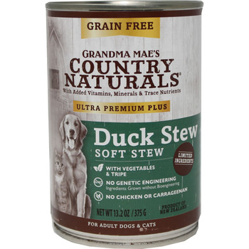 Grandma Mae's Ultra Premium Plus Grain Free Duck 13.2oz