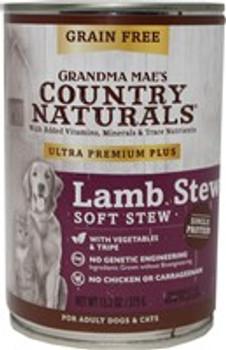 Grandma Mae's Ultra Premium Plus Grain Free Lamb 13.2oz