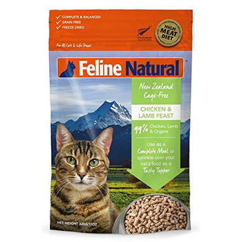Packed With New Zealand Wholefood Ingredients And Selected Essential Vitamins And Minerals, Feline Natural Provides The Perfectly Balanced Diet, Rich In Nutrients And Bursting With Natural Energy For A Happy Healthy Cat.