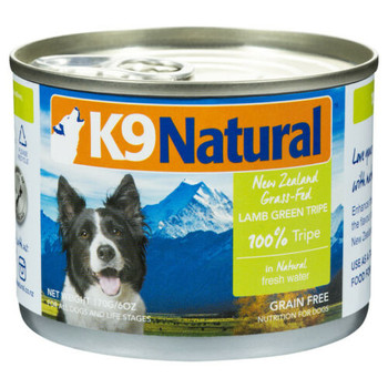 Lamb green tripe is not only rich in protein, but also loaded with enzymes, good bacteria and amino acids, it?s a digestive aid with a multitude of health benefits. Just pop the easy top can and add as a topper and supplement in your pup?s meals for an added boost.