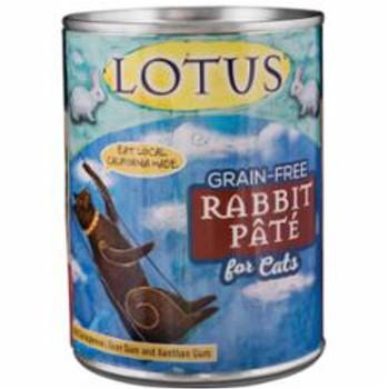 Lotus Cat Pate Grain Free Rabbit 12.5oz