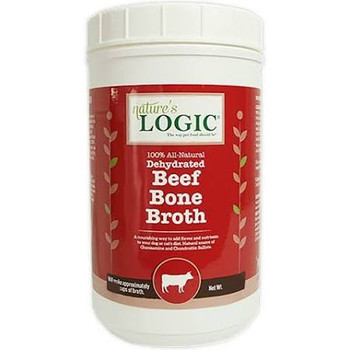 Ture's Logic Dehydrated Beef Bone Broth Dog - Cat Supplement, 6-oz Tub; Add A Splash Of Savory Flavor To Your Precious Pets Diet With Nature's Logic Dehydrated Beef Bone Broth Dog - Cat Supplement. Made From 100% All-natural, Dehydrated Beef Bone Broth, T