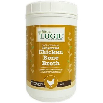 Ture's Logic Dehydrated Chicken Bone Broth Dog - Cat Supplement, 6-oz Tub; Add A Splash Of Savory Flavor To Your Precious Pets Diet With Nature's Logic Dehydrated Chicken Bone Broth Dog - Cat Supplement. Made From 100% All-natural, Dehydrated Chicken Bone