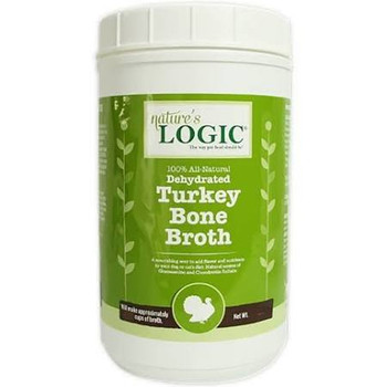 Ture's Logic Dehydrated Turkey Bone Broth Dog - Cat Supplement, 6-oz Tub; Add A Splash Of Savory Flavor To Your Precious Pets Diet With Nature's Logic Dehydrated Turkey Bone Broth Dog - Cat Supplement. Made From 100% All-natural, Dehydrated Turkey Bone Br