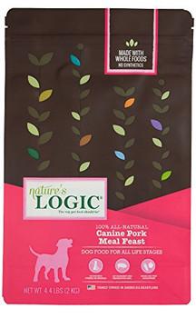 Nature's Logic Dog Pork 4.4lb {L-x}
