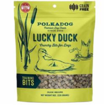 Polka Dog Bakery Dog Lucky Duck Bites 8oz