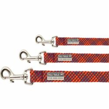 Tall Tails Dog Braided Leash Multi Small
