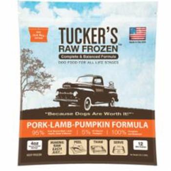 Tuckers Dog Frozen Complete Balanced Pork Lamb 3lb Sd-5 {L-x}