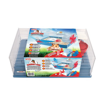 Let Your Child's Imagination Soar With The Living World Hamst-air Interactive Hamster Habitat.  This Colourful, Whimsical, Airplane-themed Habitat Is A Fun Way To Engage Your Child's Interest While Making It The Perfect Home For Your Small Pet. Snap-on Wi