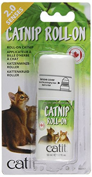 Would You Like To Stimulate Your Cat To Play More Intensely Or Keep Your Feline Away From Your Furniture Then Catnip Is The Way To Go! Catnip Roll-on Allows You To Apply Concentrated Streaks Of The Appealing Catnip Scent Loved By Cats.   Apply Every So Of
